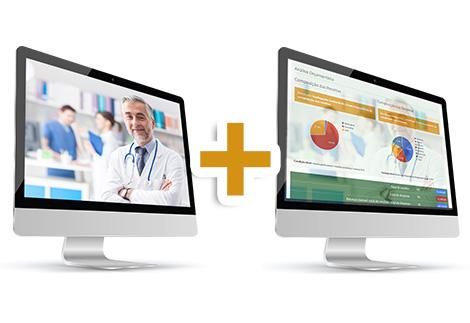 Foto para o produto Curso Online Administração de Clínicas e Consultórios Médicos e Odontológicos - Volume I - Financeiro