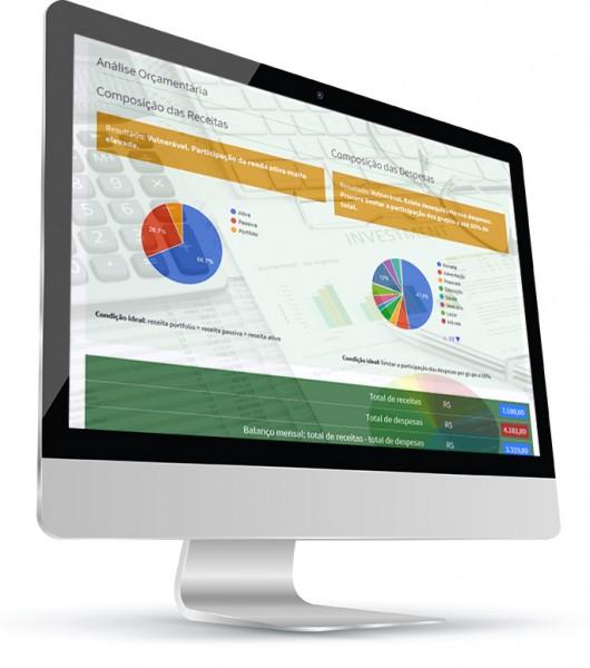 Foto para o produto Diagnóstico Financeiro Online Dinâmico